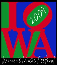 iowa womens music fest logo