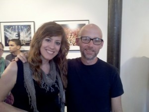 Emily Zuzik and Moby